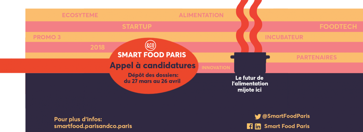 Appel à candidatures Smart Food Paris