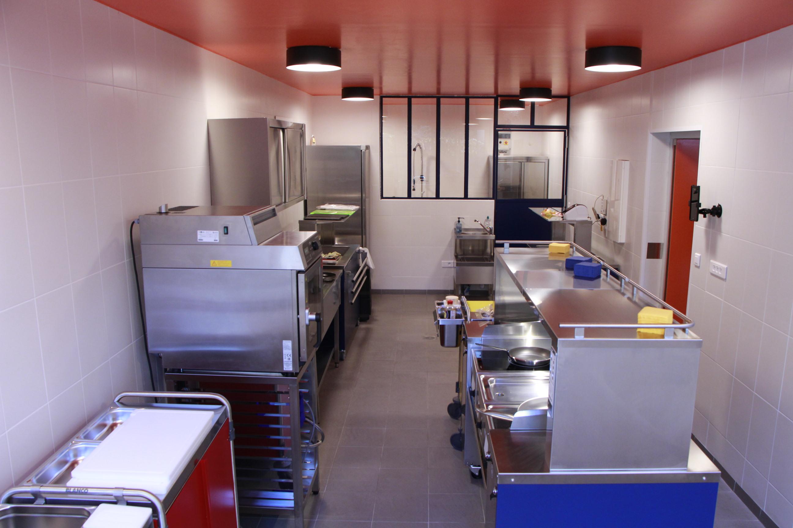 photo du laboratoire culinaire